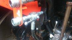 Ursus 4514 hydraulika zewnętrzna