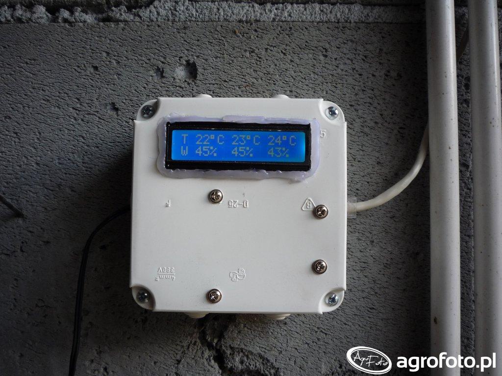 Temperatura i wilgotność w silosie