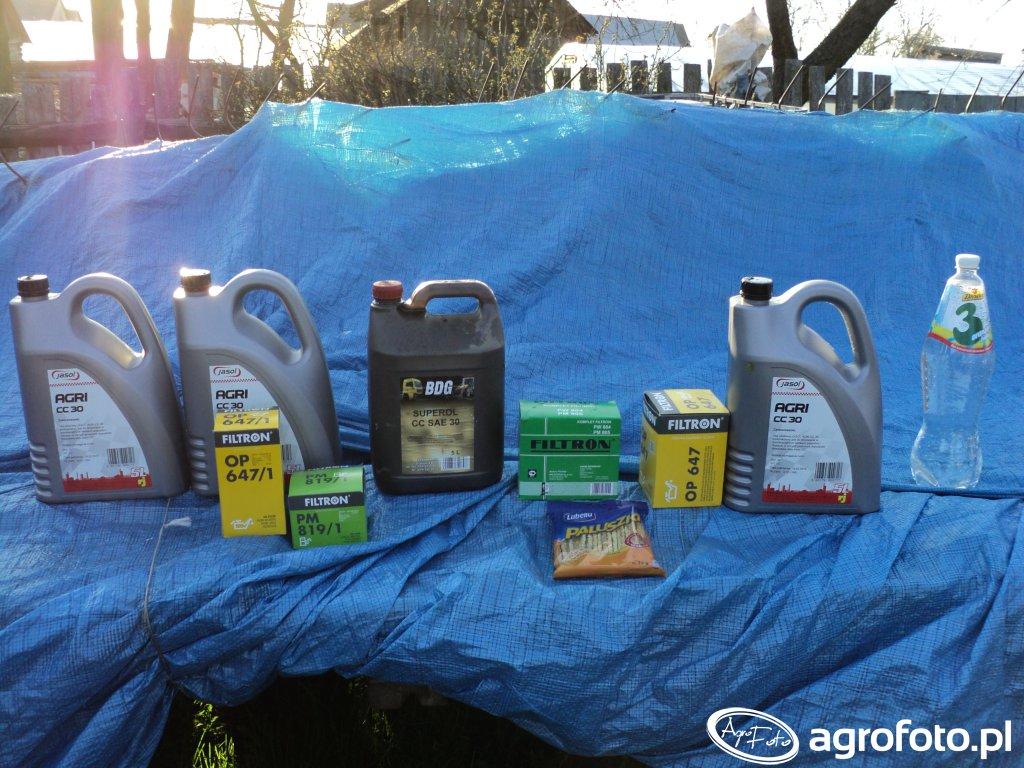 Filtry oleju, paliwa i oleje