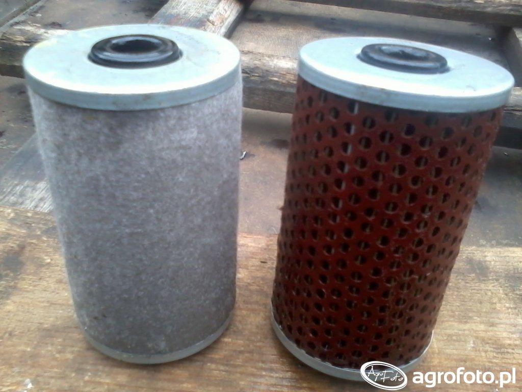 Filtry paliwa wymienione po 5 latach - Bizon Z058.