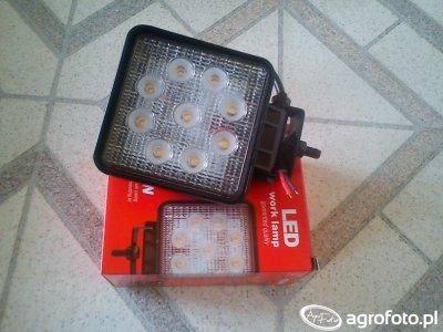Lampa LED 27W