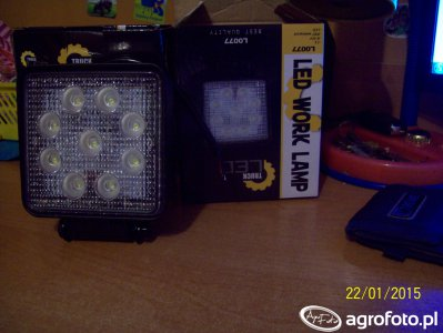 Lampa robocza LED