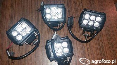 Lampy led 4x