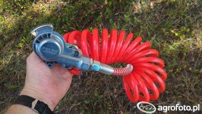 Złącze pneumatyczne oraz przewód spiralny POLMO