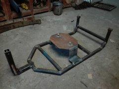 Wózek na koło zapasowe
