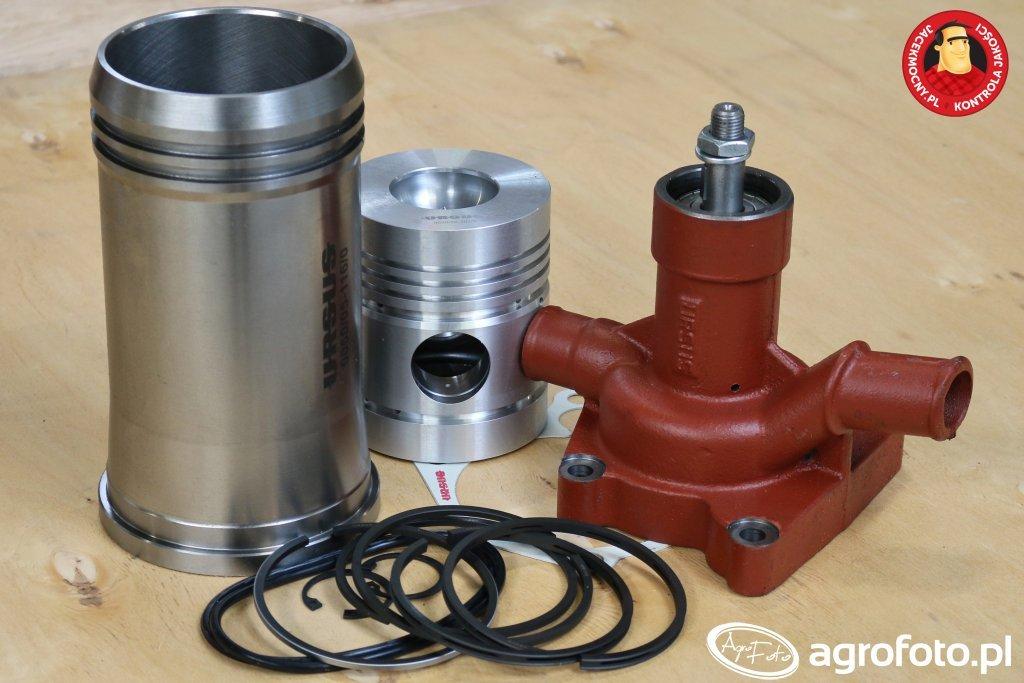 Zestaw naprawczy, pompa wody oraz uszczelka URSUS C-360