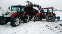 Steyr 9105 Mt + autosan & Ursus 5714