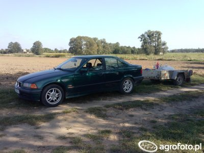 BMW Serii 3 + przyczepka