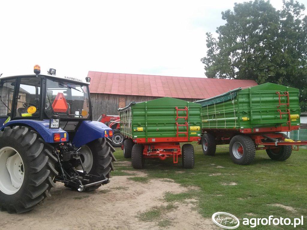 Farmtrac 675DTN + Pronar t672/2 t672