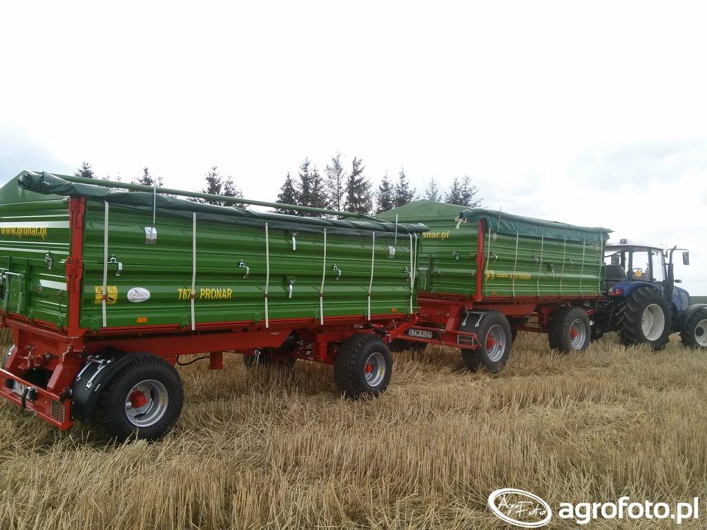 Pronar T672/2 + T672 Farmtrac