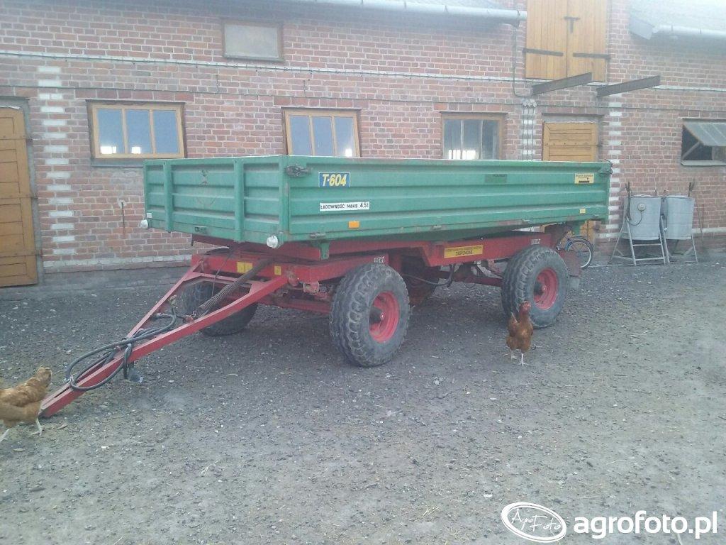 Przyczepa Warfama T604