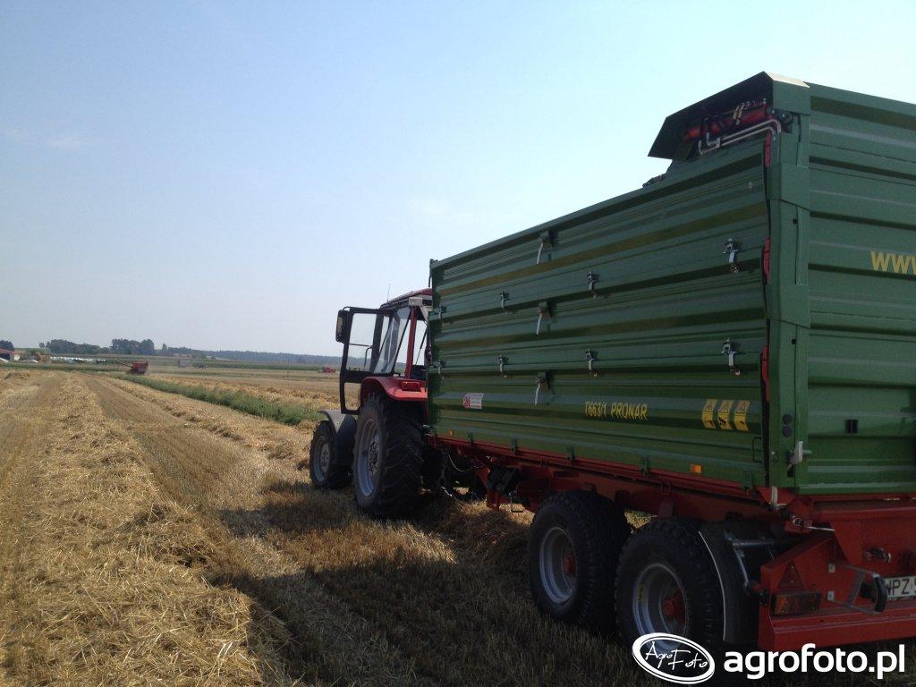 Belarus 1025.3 Pronar T663 1 SILO (2)