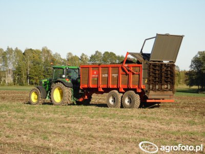 Ursus N-270 & John Deere 6630
