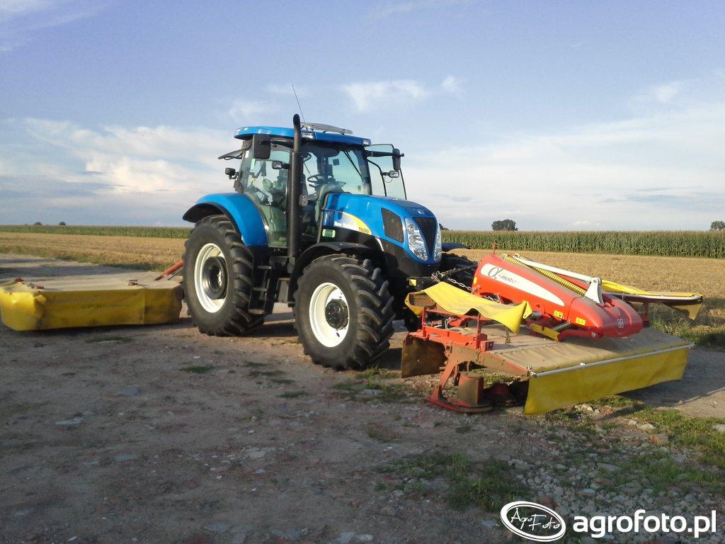New Holland T6090 + POETTINGER