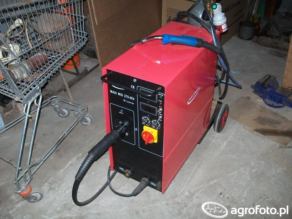 Migomat Weldman Maxi Mig 270 4x4