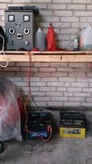 Stanowisko ładowania akumulatorów