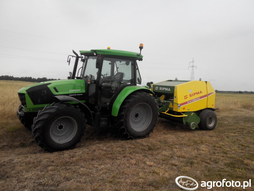 Deutz-Fahr 5105.4 G HD i Sipma PS 1211 Farma Plus