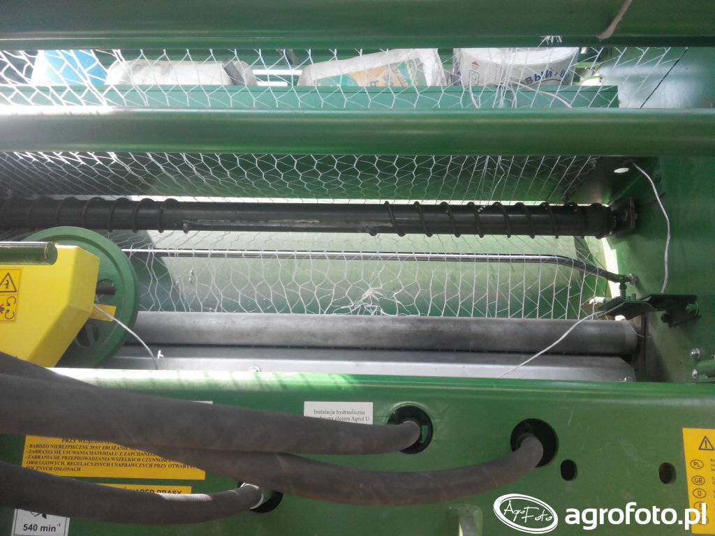 Sipma PS 1211 Farma Plus - dodatkowa rolka rozciągająca siatkę