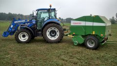 New Holland T4 95 \u0026 Sipma Farma ll