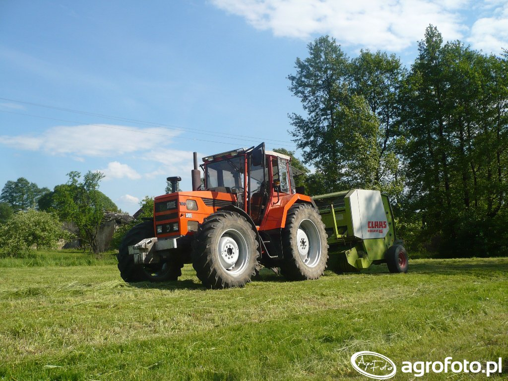 Same Laser 100 & Claas Rollant 46