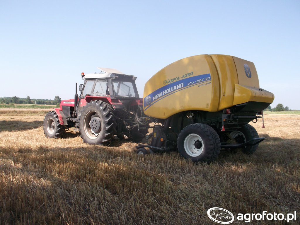 New Holland Roll-Belt 150C