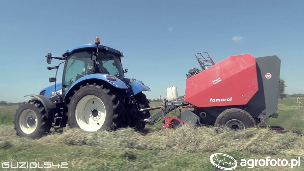 New Holland t6.120 & Unia Famarol DF 1.8v