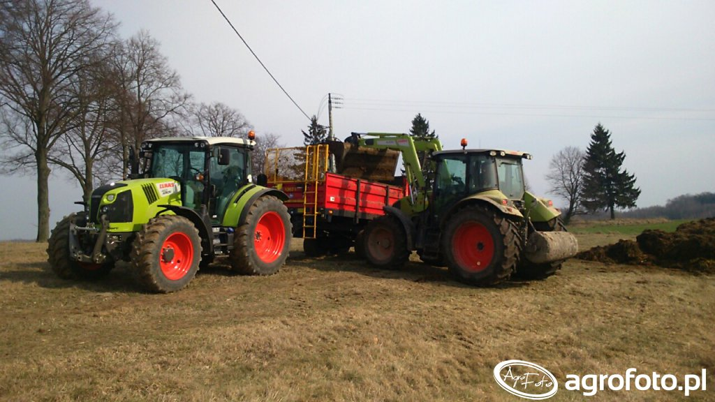 Claas Arion 410 & 460