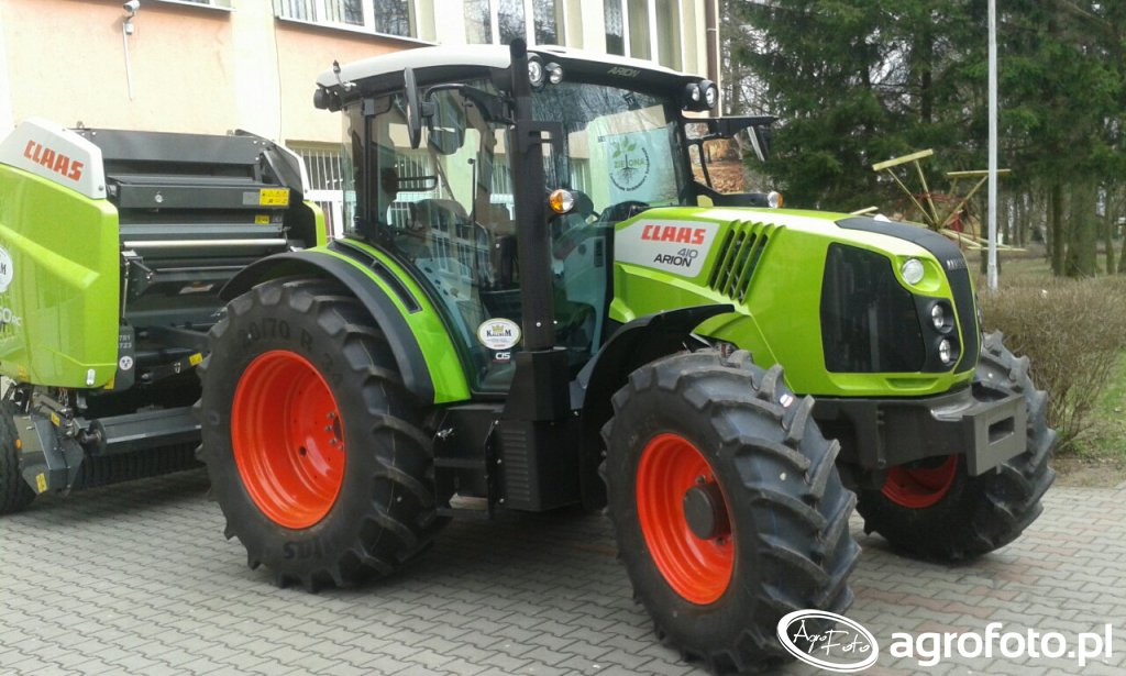 Claas arion 410 & variant