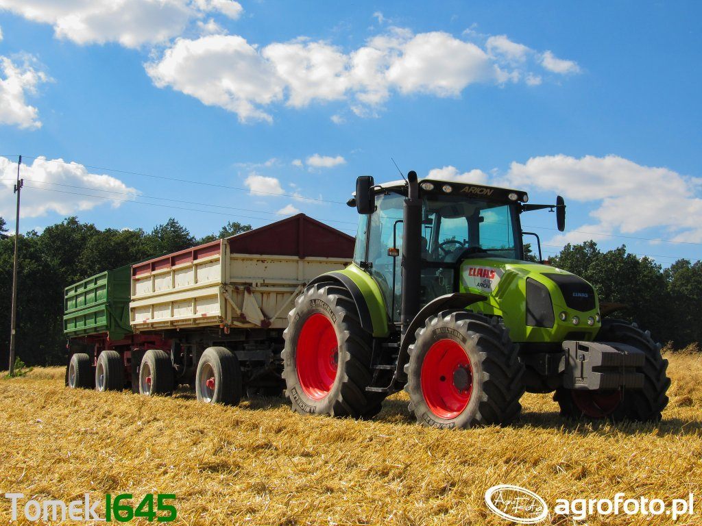 Claas Arion 430 Cis & Brandys