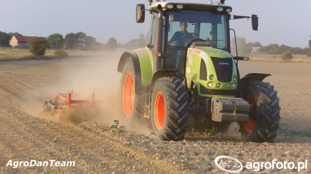 Claas Arion 520 + expom lech