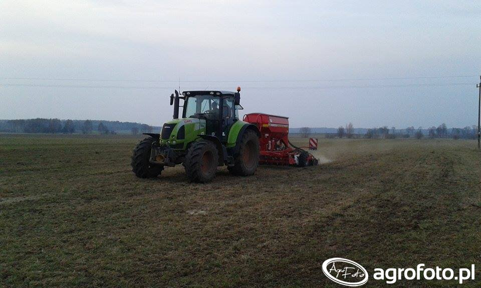 Claas Arion 610C & Horsch Pronto 3DC