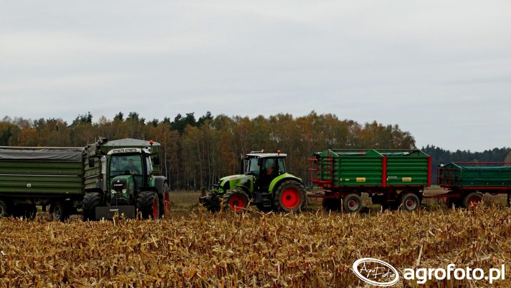 Claas Arion 630 & Fendt 820 Vario