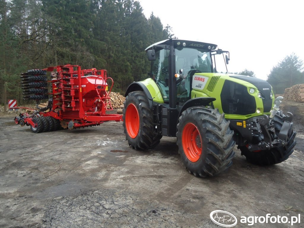Claas Axion 830+ Horsch Pronto 6dc
