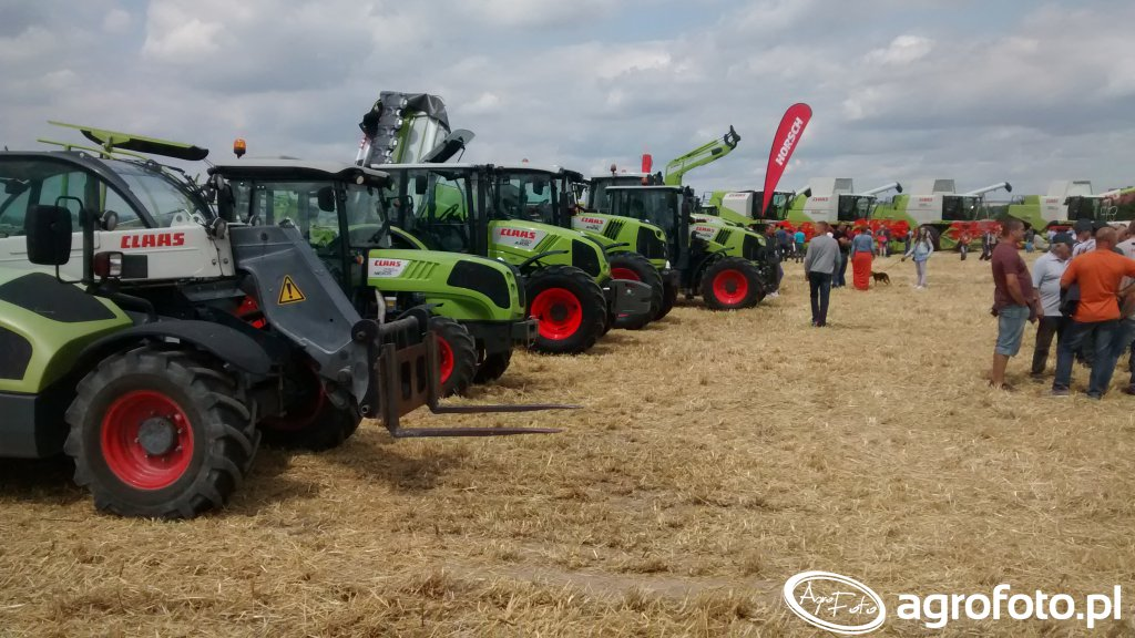 Claas Demo Show 2015