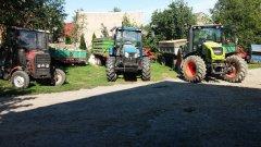 Claas Arion 430 &  Pronar Zefir 85 & MF 255
