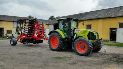 Claas Arion 620 CEBIS Grano System Shark 5.0