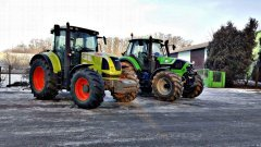 Claas Arion 630 & Deutz-Fahr 6160