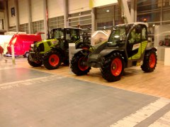 Claas Arion & Claas Scorpion