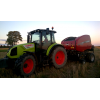 Claas Arion 420  Case RB 455