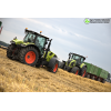 Claas Arion 630 i Claas Axion 930