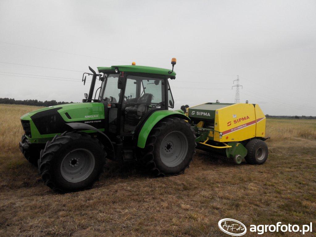 Deutz-Fahr 5105.4 G HD GS i Sipma PS 1211 Farma Plus