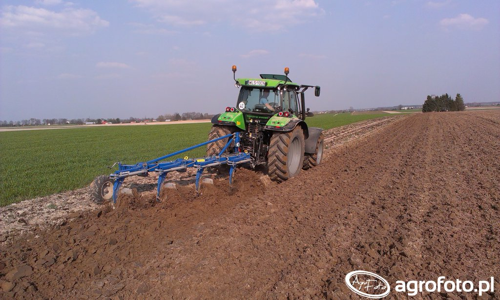 Deutz-Fahr 5110 & Overum CT 4975 H