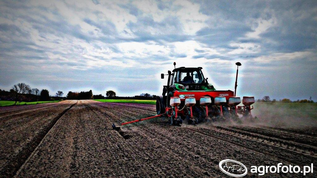 Deutz-Fahr 6150 Agrotron & Maschio Gaspardo