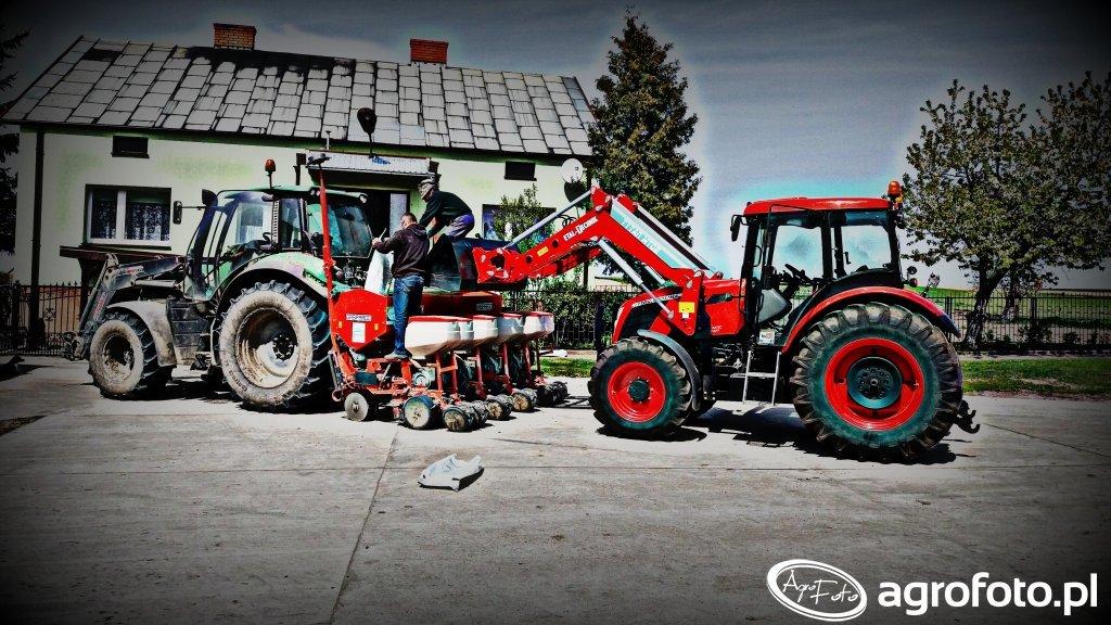 Deutz-Fahr 6150 Agrotron& Maschio Gasprado
