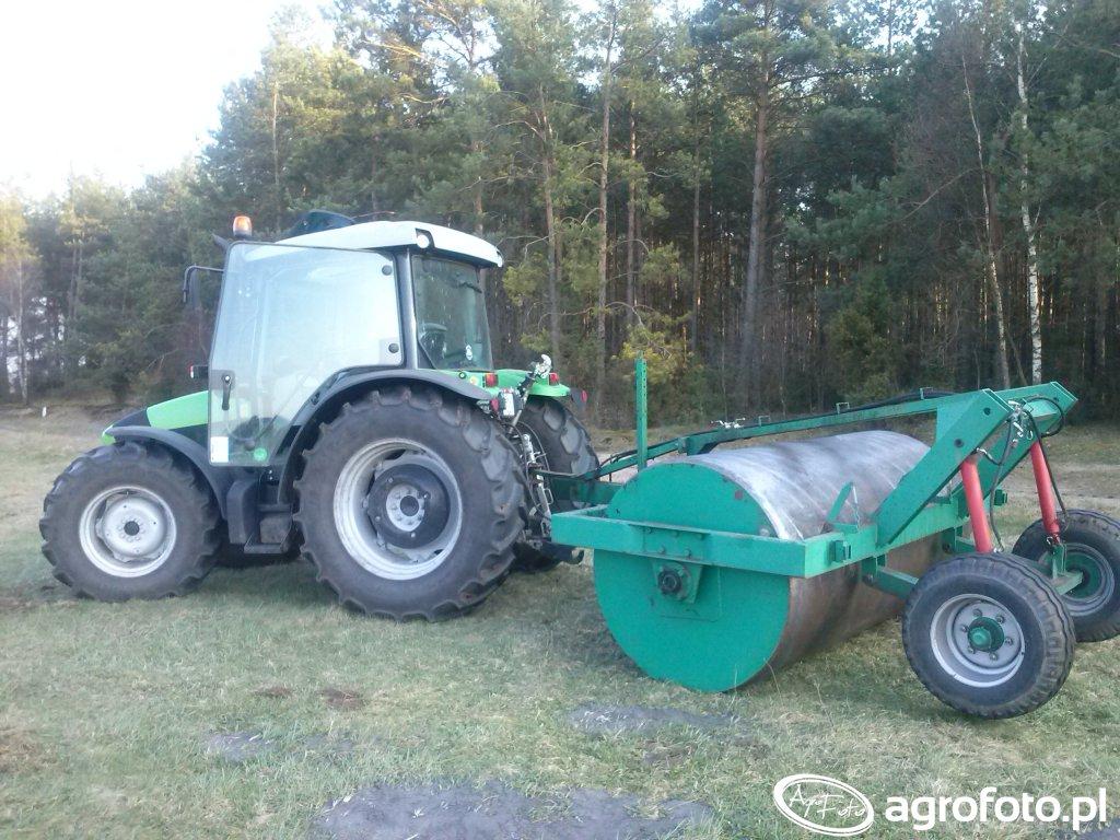 Deutz-Fahr Agrofarm 410 + Wał
