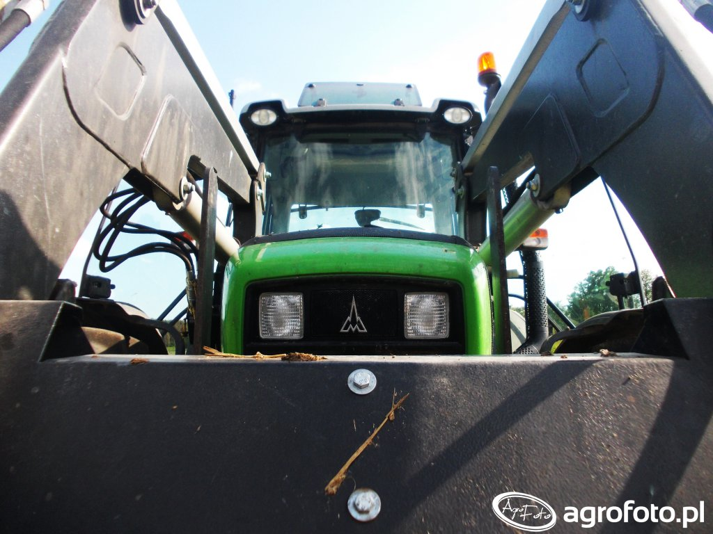 Deutz-Fahr Agrofarm 410GS + Niemeyer