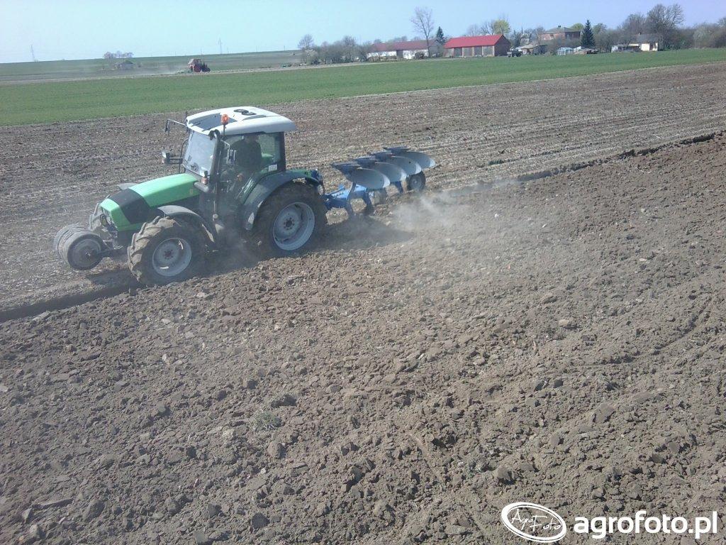 Deutz-Fahr Agrofarm 430 i Overum Xcelsior CX 4975