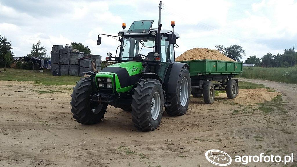 Deutz-Fahr Agrofarm 85 & Autosan D-47