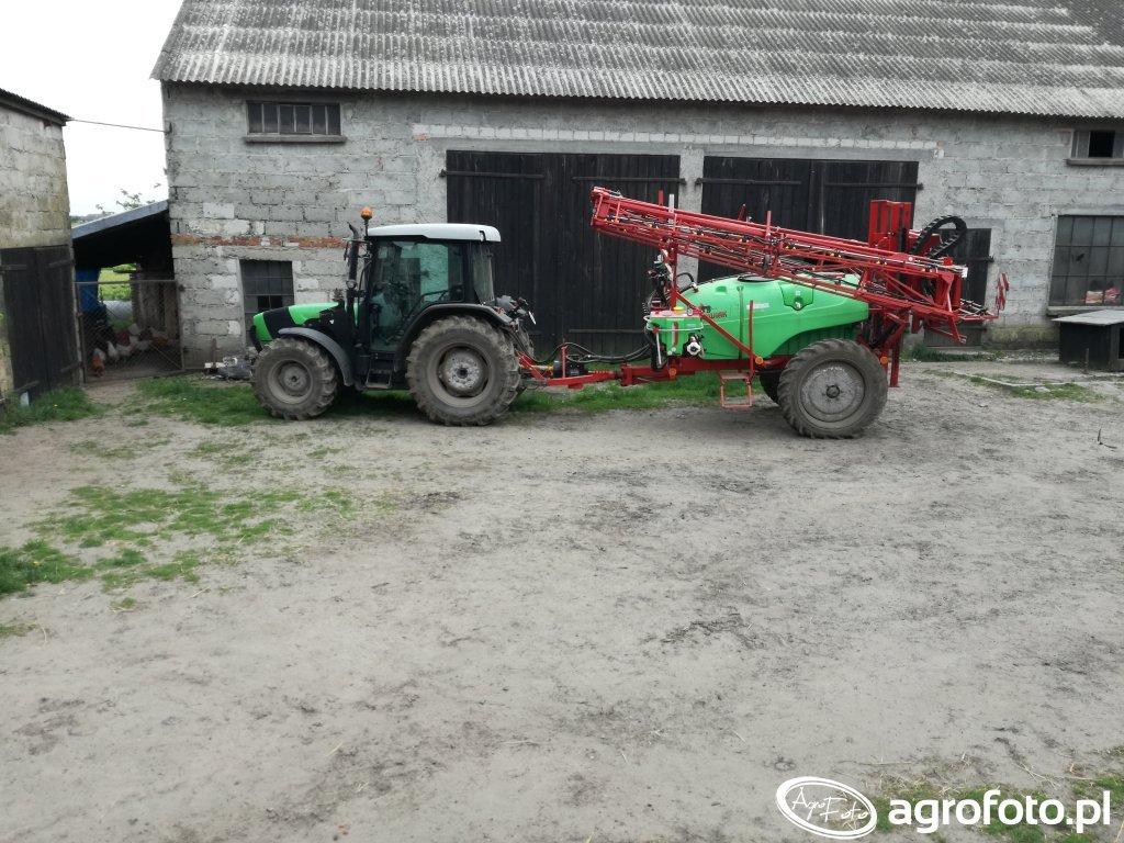 Deutz Fahr Agroplus 310 + Krukowiak 1518 PHN