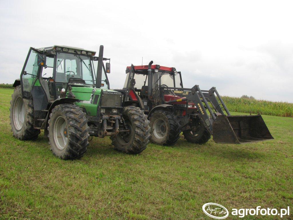 Deutz-Fahr Agrostar 6.31   Case 4240XL